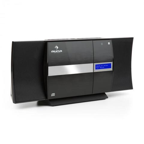 Auna V-20 DAB HiFi veža, Bluetooth NFC CD USB MP3 DAB+ UKV, RDS